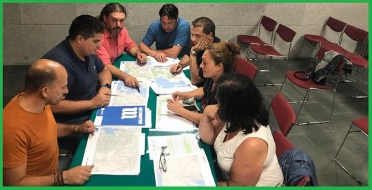 Reunión de agrupaciones de En Marea de O Salnés /