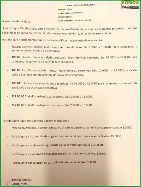 captura proposta SR orzamento